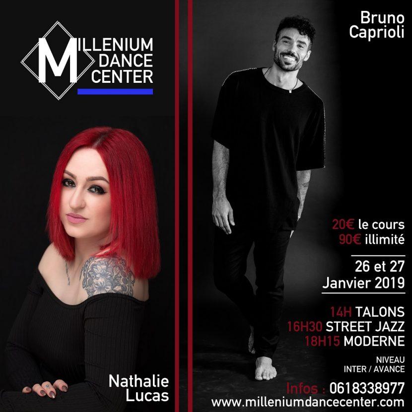Stage MDC - Nathalie Lucas - Bruno Caprioli 2019