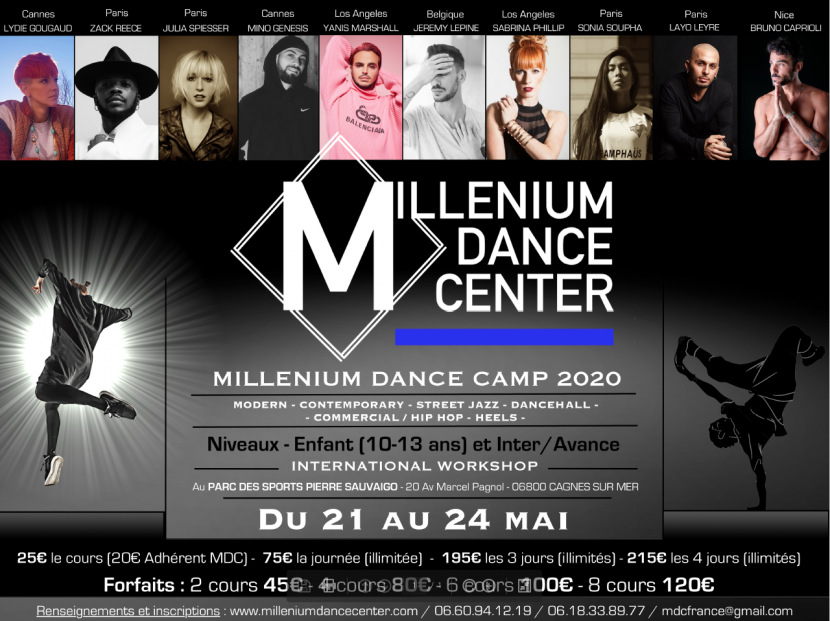 Millenium Dance Camp 2020